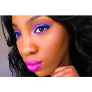 Please check out my youtube channel and tutorial for this look.