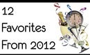 12 Favorite Products of 2012
