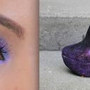 Galazy Eye MakeUp