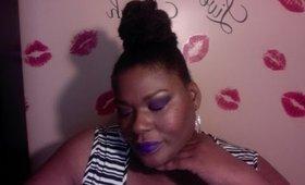 purple rain my fotd