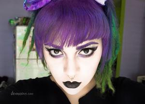 purple eyebrows ♥