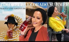 Summer Makeup/ Fashion in Colorado ❤ | Nura Afia