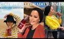 Summer Makeup/ Fashion in Colorado ❤ | Nura Afia
