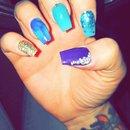 Mermaid Inspired Nails