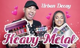 Urban Decay Heavy Metal Makeup! Tutorial and Review