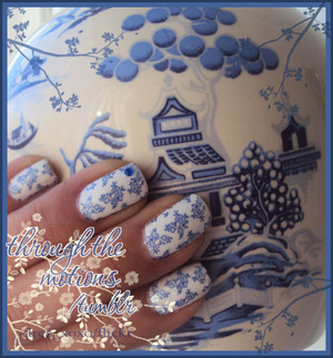 Base: China Glaze .:. White On White