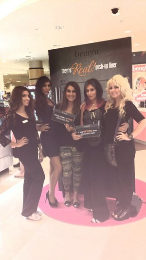 Work launch of there real eye linner