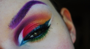 I got inspired by Leesha's (Xsparkage) Hunger Games makeup tutorial, but made my own verison based on her look!  Like me on Facebook! http://www.facebook.com/pages/Makeup-Is-Art/455624517797347