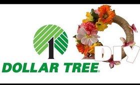 Dollar Tree DIY- Flower wreath