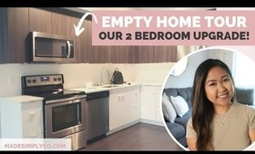 New Modern Apartment Living | Empty Home Tour!