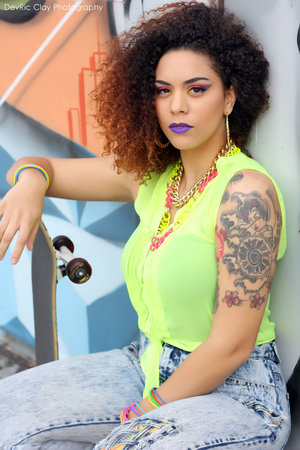Photographer: DevRic Clay MUA/Creative Director:Christen Stephens  Model: Lena Janelle Ray