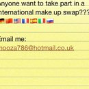 MAKE UP SWAP!