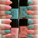 Covergirl Coral Silk and Mint Mojito