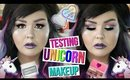 Testing Unicorn Makeup Products | Feat Makeup Revolution