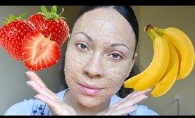 DIY| Strawberry Banana Facemask