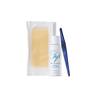 Avon Skin So Soft Fresh & Smooth Facial Hair Removal Kit
