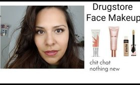 Drugstore Face Makeup - Chit Chat