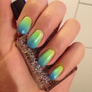 Green-Blue-Airbrush