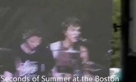 5 Seconds Of Summer on Boston fans
