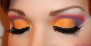 For more information, please visit: http://www.vanityandvodka.com/2013/03/bold-and-colorful-cut-crease.html