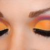 Bold and Colorful Cut Crease