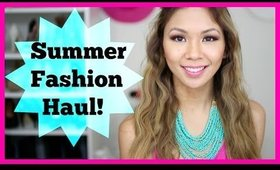 Summer Fashion Haul 2014! Target, Express, F21 + More!
