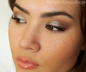Simple summery smokey look. All info on my blog: http://www.maryammaquillage.com/2012/03/taupe-smokey-pour-amelie.html