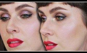 DuoChrome Eyes & Ombre Lips Makeup Tutorial | LetzMakeup