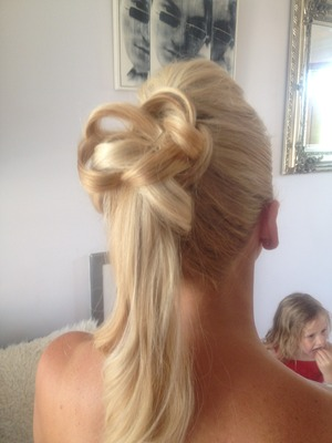 Add a bit of variety to the everyday ponytail