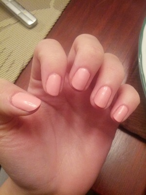 I went to the salon and got this color on my nails. I love this color so much and have been trying so hard to find this color again. I know I could go back to the salon and ask for the color but I am so shy. :S any suggestions?