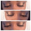 |copper neutral smokey eye|