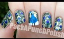 Peacock Nail Art Tutorial