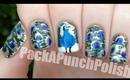 Peacock Nail Art Tutorial