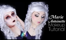 Marie Antoinette Halloween Makeup Tutorial - 31 Days of Halloween