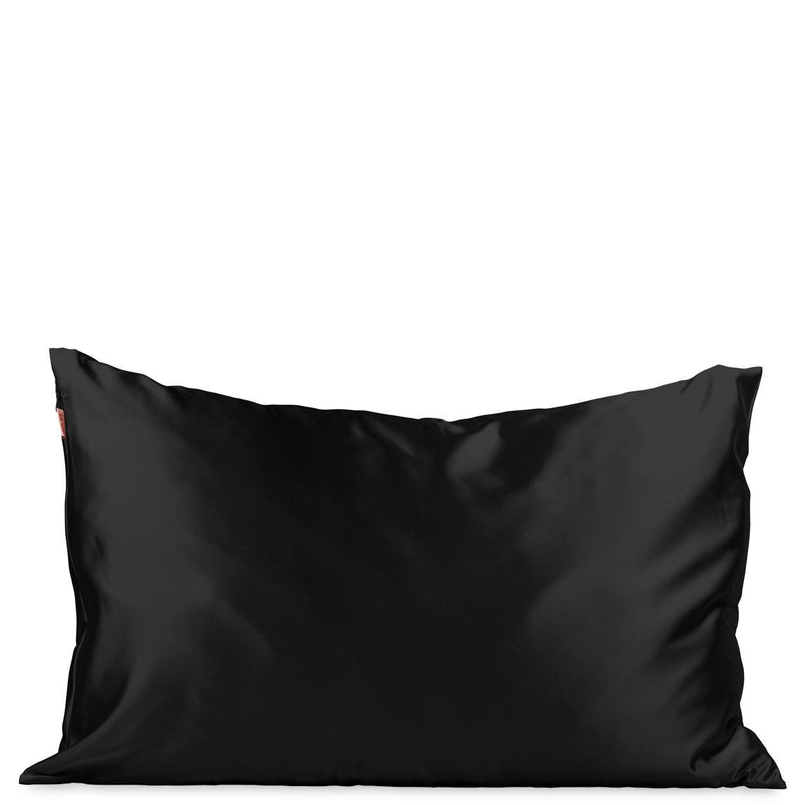Kitsch Satin Pillowcase Black alternative view 1 - product swatch.