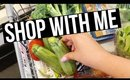 SHOP WITH ME: HEALTHY FOOD GROCERY HAUL ON A BUDGET + WHAT I EAT IN A DAY | SCCASTANEDA