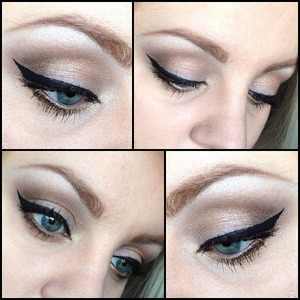 A simple look created using Urban Decay's Naked 2 Palette.