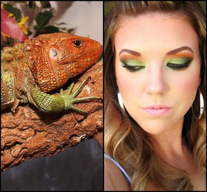Caiman Lizard Inspired