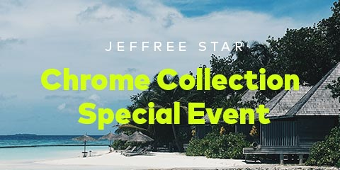 Shop the Jeffree Star Chrome Collection Special Event