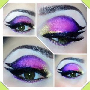 Cut crease Double winged liner