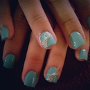 Tiffany Bow Nails