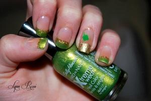 Easy St Patricks Day Nails !