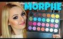 MORPHE Single Eyeshadow Palette REVIEW, DEMO + SWATCHES, false eyelashes  Kikii