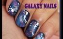 Easy Galaxy Nail Design