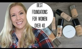 Best foundations for women over 40 | BEAUTY OVER 40