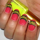 Tribal/Easter Nails