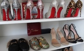 DESIGNER SHOE ADDICTS (try on) MY COLLECTION PART 1