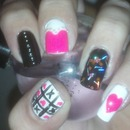 V-Day nails (insired by Ash B. and Claudia C.)