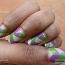 Tutorial : Nail Art :  Braided effect