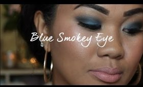 How to do a Blue Smokey Eye Using Drugstore Products